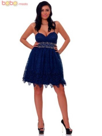 Rochie Scurta DeLuxe Gorgeous Navy